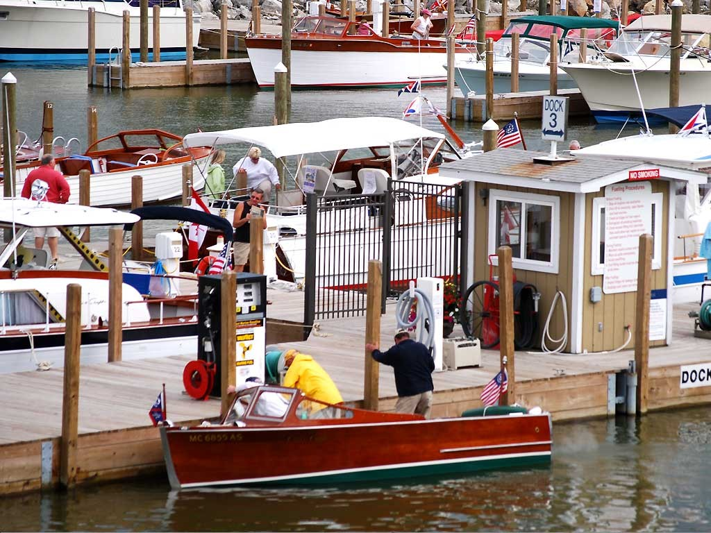 Fuel & Pump-out Dock